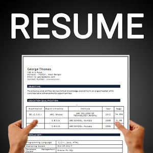 best resume builder app 2018 for android 30 resume formats