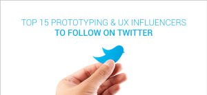 Top 15 prototyping & UX influencers to follow on Twitter