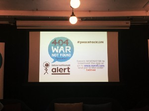 We won International Alert Peacehack and here's why