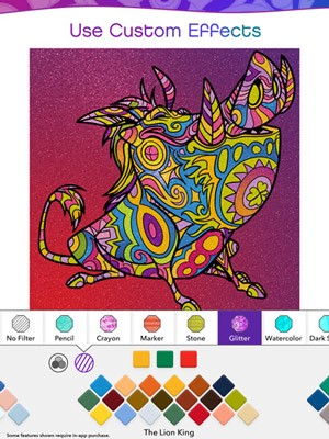 Disney Just Released A Digital Coloring Book For Adults Omgfacts