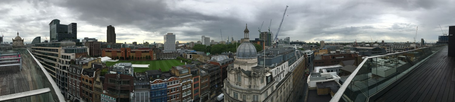 Celebrating the Seedcamp Onboarding Week with Pizza and a nice view ;)