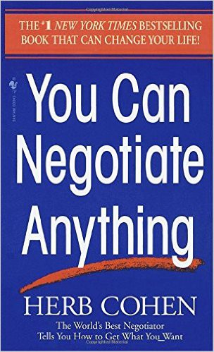You Can Negotiate Anything — Summary