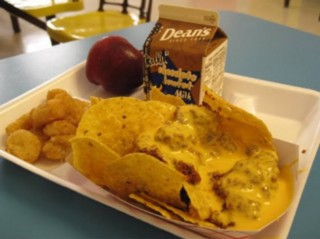 School nachos and unidentified nuggets, courtesy of http://assfacemclegs0.blogspot.com