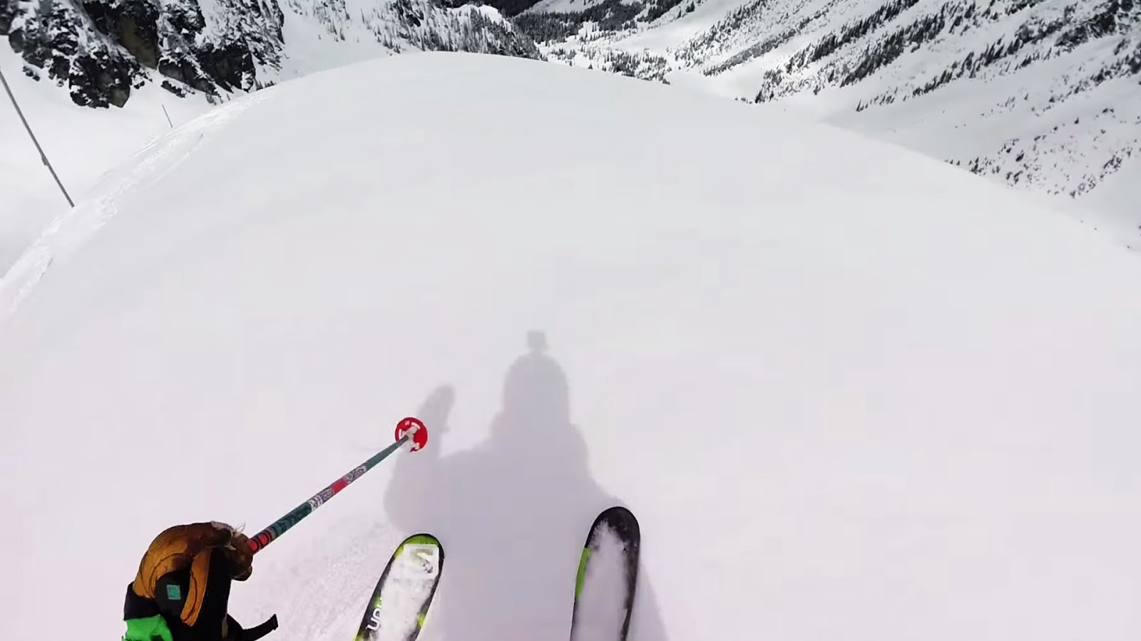 Stan Rey dropping in to Spanky's at Whistler Blackcomb.