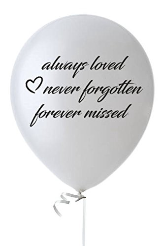 Specially Memorial Funeral Balloons Memorial Balloons Medium