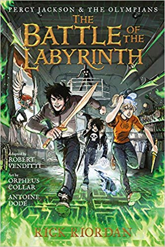 Pdf The Battle Of The Labyrinth The Graphic Novel Percy Jackson