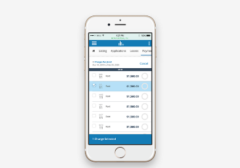 Online Rent Payments Interface