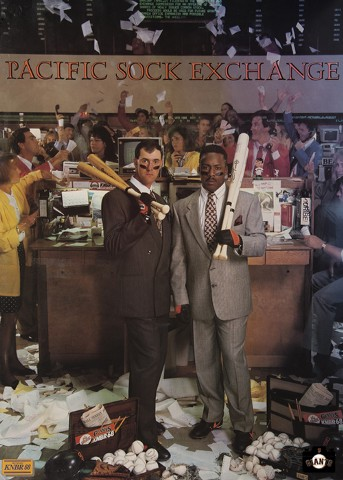 Pacific Stock Exchange, Will Clark, Kevin Mitchell, 1989