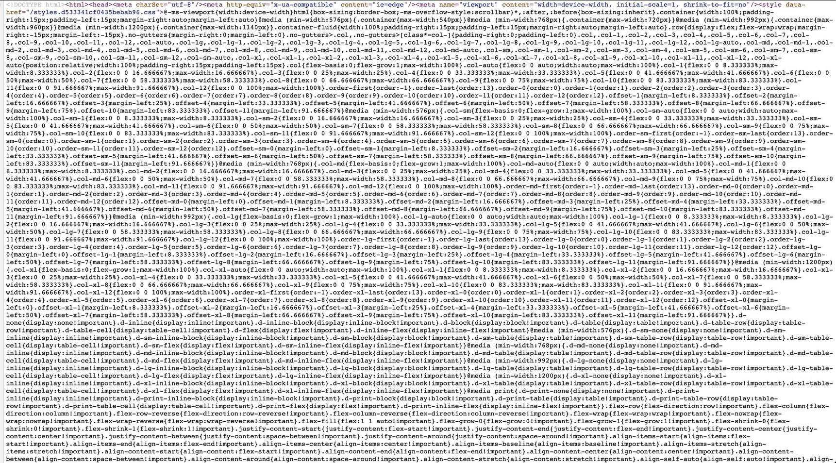 """""""How CSS looks when somebody else writes it"""""""