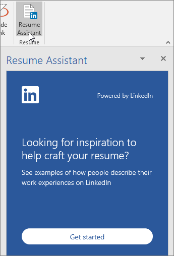 How to write resume using microsoft word resume assistant