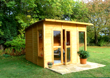 For the convenience of construction prefabricated wooden houses have become enormously popular in England Scotland and Wales. & What Should Be Done for Building a Small Wooden Summer House Easily ...