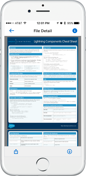 Pdf Viewer Lightning Component My Journey With Salesforce1