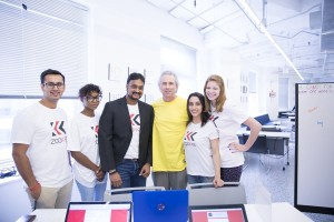 Our team with Howard Tullman!