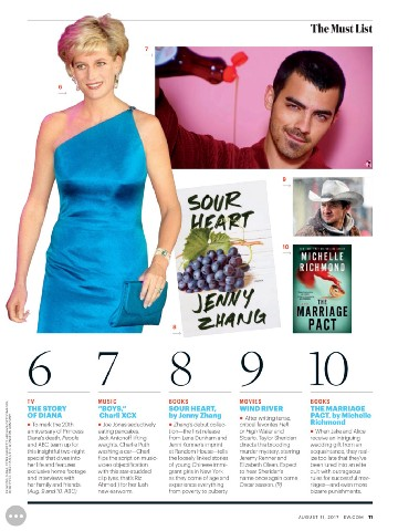 The Marriage Pact on Entertainment Weekly Must List