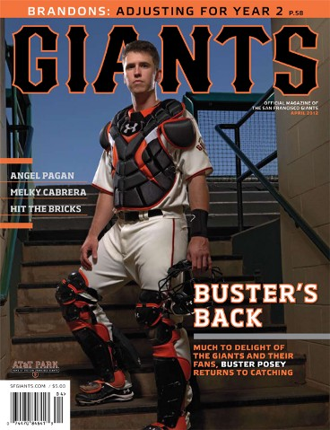 S.F. Giants, San Francisco Giants, Photo, Giants Magazine, Buster Posey, April 2011