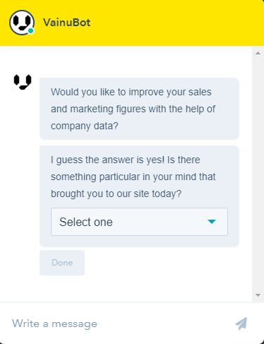 Chatbot Lead Generation Examples
