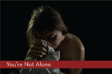 Share your story and tell others that they are not alone.