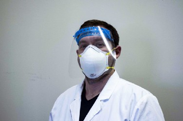 Azul 3D is beginning production of face shields for healthcare workers battling COVID-19