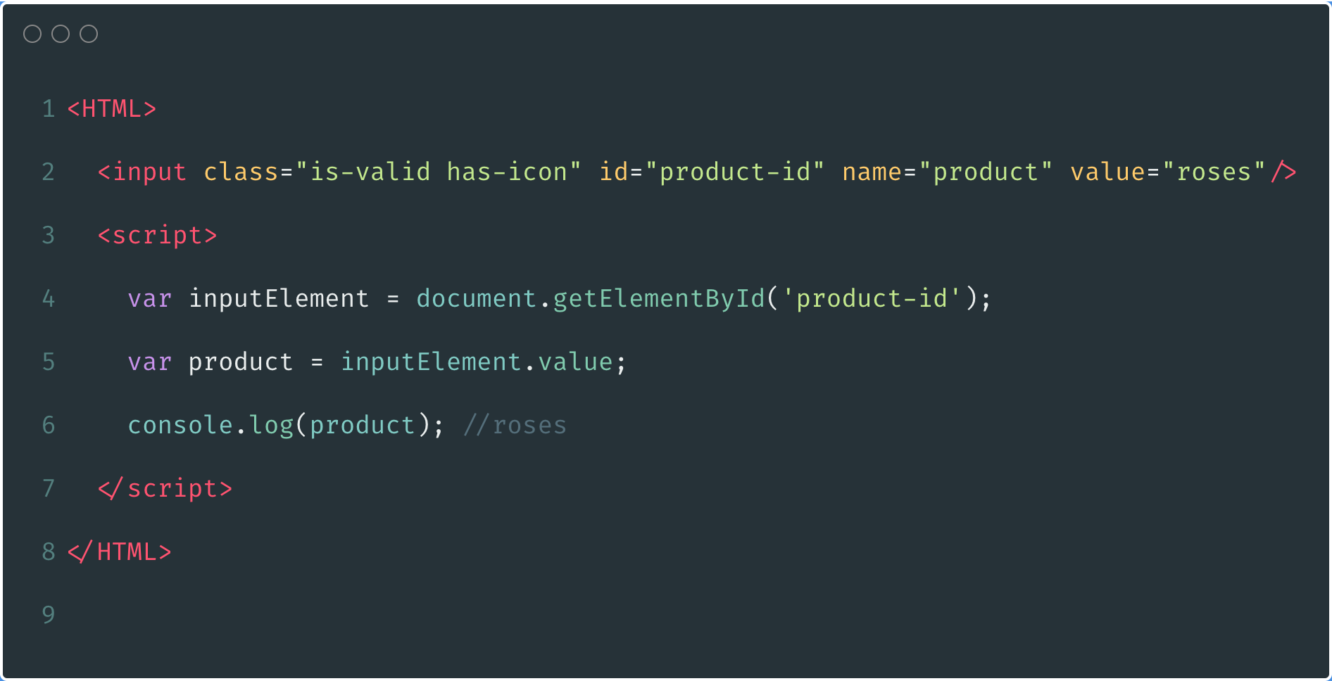 Using invalid variable names as Ids