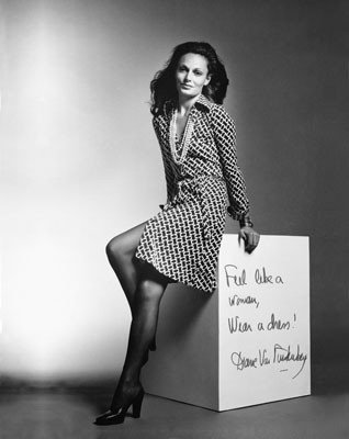 This Is Diane Von Furstenberg A Creator Of The Legendary Wrap Dress In 1970s We Women Rave About Indeed I M Fan Her Dresses