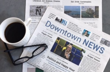 Downtown NEWS is the only local publication for Downtown Miami. A neighborhood perspective. subscribe for the Fall 2019 Issue, featuring the ultimate culture and entertainment guide.