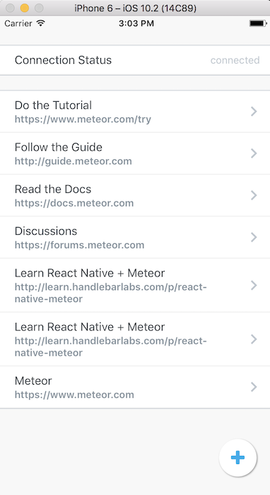 first thing we want to do is setup our public api for this offline functionality ill be doing my work in react native meteor offlinejs and exporting an