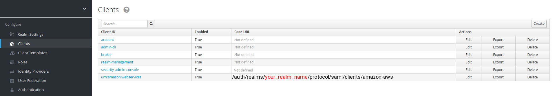 your_realm_name — is the name of the keycloak realm, for which you configure SAML client