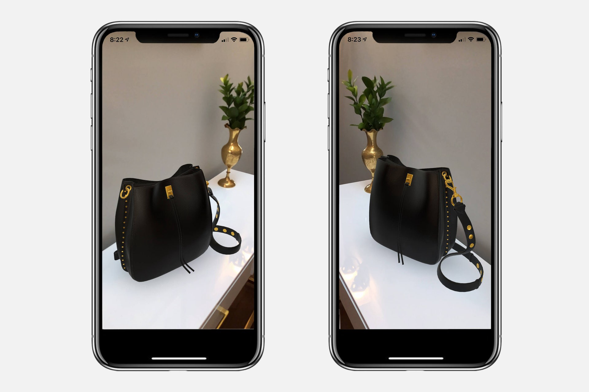 Rebecca Minkoff was one of the first brands to test AR-enabled 3D products on Shopify