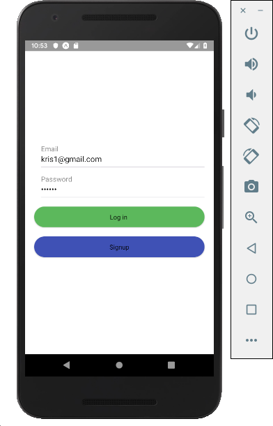 Email Authentication with React native and Firebase - By