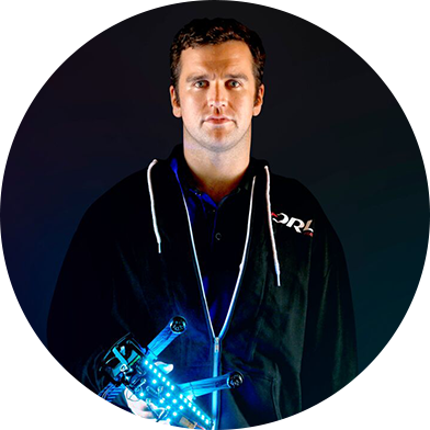 Nicholas Horbaczewski, CEO & Founder at the Drone Racing League