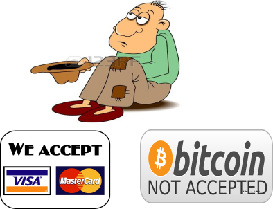 Why you cannot be your own bank decentralize today bitcoin donations are costly ccuart Choice Image