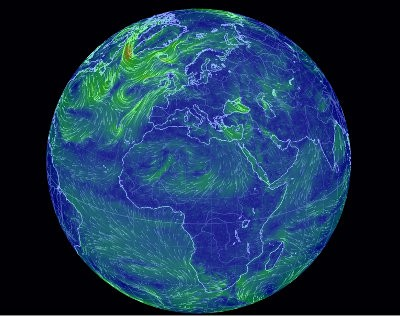 Earth a global map of wind weather and ocean conditions a visualization of global weather conditions forecast by supercomputers updated every three hours gumiabroncs Image collections