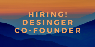 Hiring Designer Co-founder! iPad Product is under development.