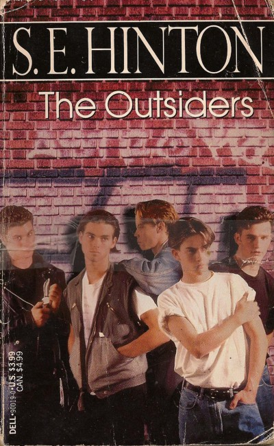 The Outsiders Drawing Book Cover : Fifty years ago a teenager wrote the best selling young