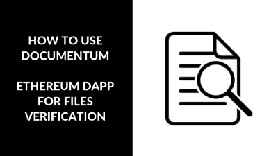 Validate your files with Ethereum using Documentum