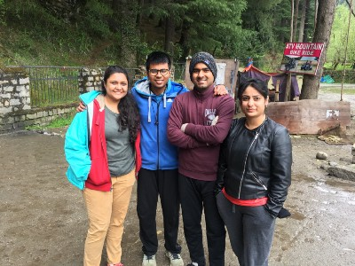 Manali was apart from all the outings we had done locally in Bangalore.