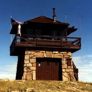 A quick history of the people who catch forest fires at for Fire lookout tower plans