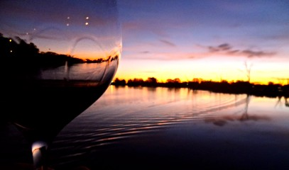 Glass on the Murray