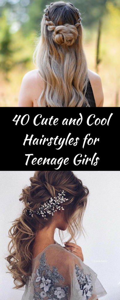 40 Cute and Cool Hairstyles for Teenage Girls – SOPHIA FITNESS – Medium