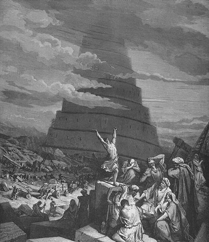 an interpretation of genesis 111 9 story about the tower of babel The story of the tower of babel in genesis 11:1–9 provides further evidence for the human origin of civilization in the form of city-building as theodore hiebert notes, the story of the tower of babel in genesis 11:1–9 is not chiefly concerned with the construction of a tower, but rather with the founding of the.