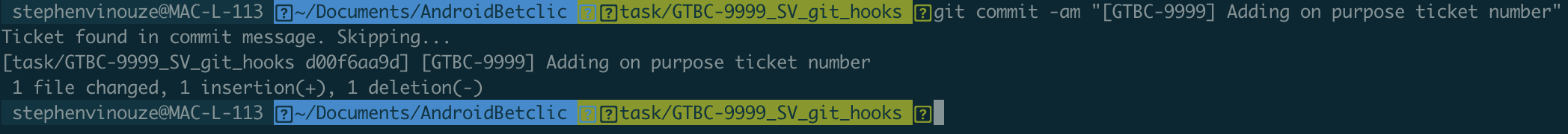 Purposefully adding [GTBC-9999] in so the commit message doesn't get duplicated