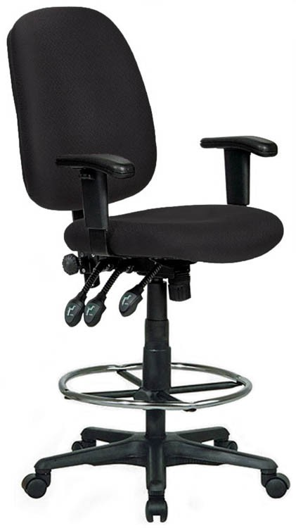 Charmant Extra Tall Ergonomic Drafting Chair By Harwick Chairs