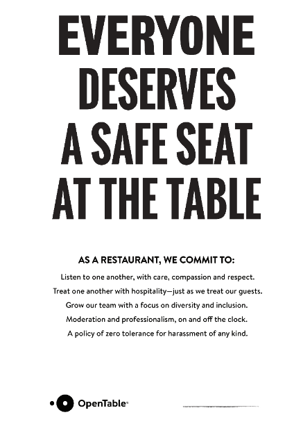 Its Time For Open Kitchens OpenTable Medium - Open table washington dc