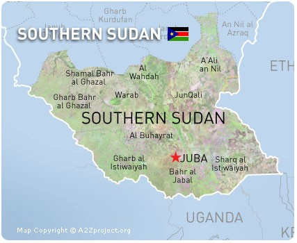 UN Security Council Establishes Peace Operation For The Republic - Republic of the sudan map
