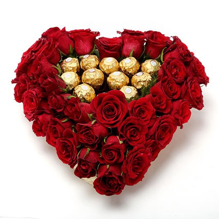 tips to celebrate valentine day with beautiful flowers, Natural flower