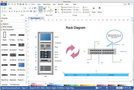Network diagram software for mac and windows olivia camp medium the software is the best network diagram visio alternative for mac os x its used as a powerful fast and easy to use network diagram drawing program ccuart Images
