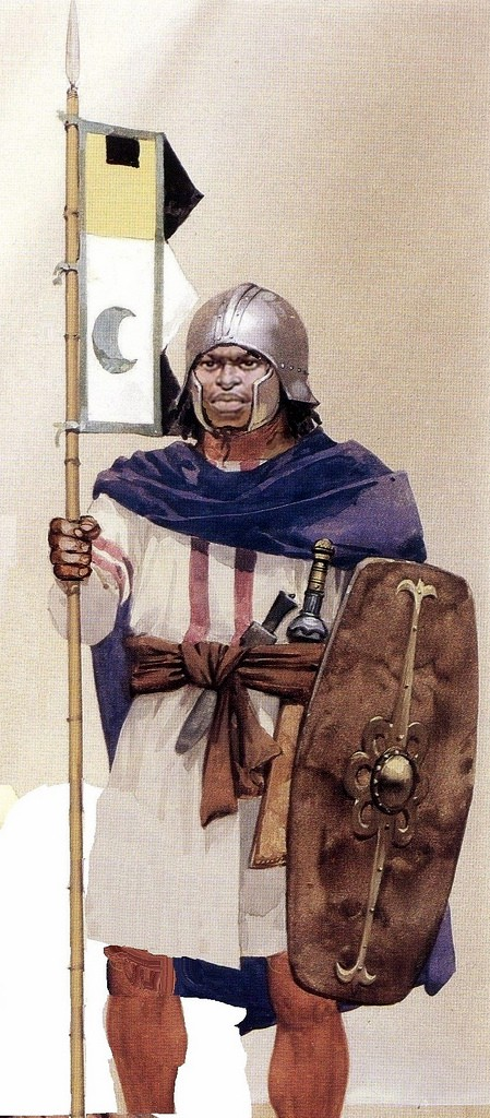 An Aksumite warrior