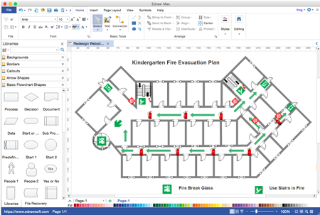Fire escape diagram software for mac lynia li medium edraw floor plan maker is a widely used fire escape diagram tool for mac os different from other diagram drawing software it provides you with a choice of ccuart Gallery