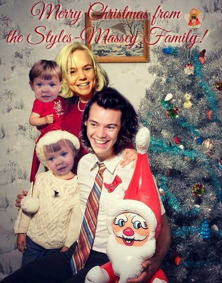 Seasons greetings from the deranged wife of harry styles and her to our friends kin and erstwhile lovers m4hsunfo