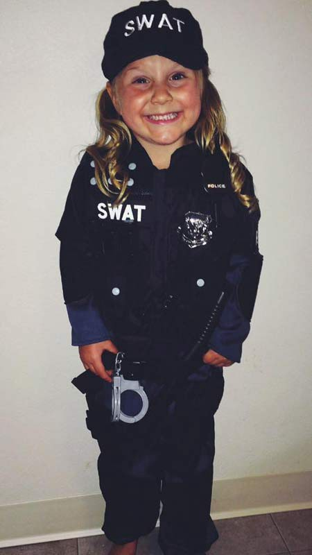 So youu0027re a girl and you want to be a cop  sc 1 st  Medium : police officer toddler costume  - Germanpascual.Com